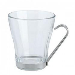 Tasse à café support inox