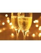 Gravure sur flûte à champagne